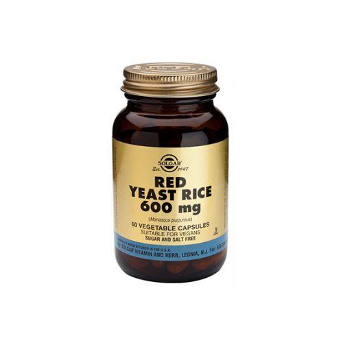 Levadura Roja de Arroz (Monascus Puerpureus) 60 Cápsulas Vegetales
