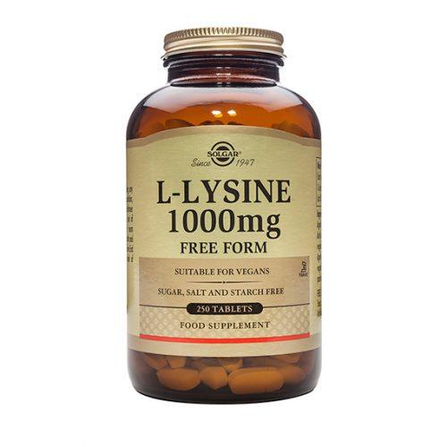 L-Lisina 1.000 mg 250 Comprimidos