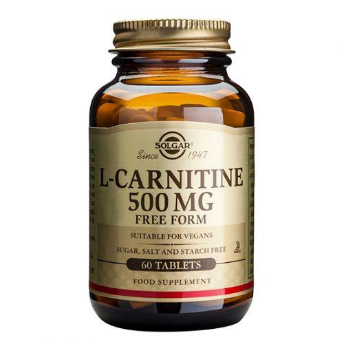 L-Carnitina 500 mg Comprimidos 60