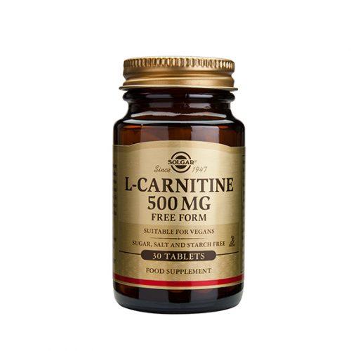 L-Carnitina 500 mg Comprimidos 30