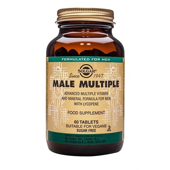 Male Multiple (Complejo para el Hombre) 60 Comp.
