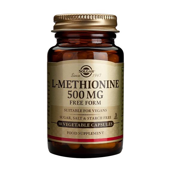 L-Metionina 500 mg Vegicaps 30
