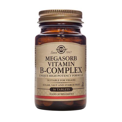 Megasorb B Complex Caps. 50