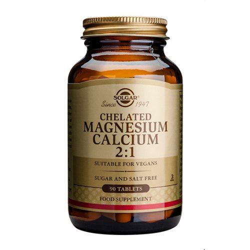 Magnesio Calcio Quelado (2:1) 90 Comprimidos
