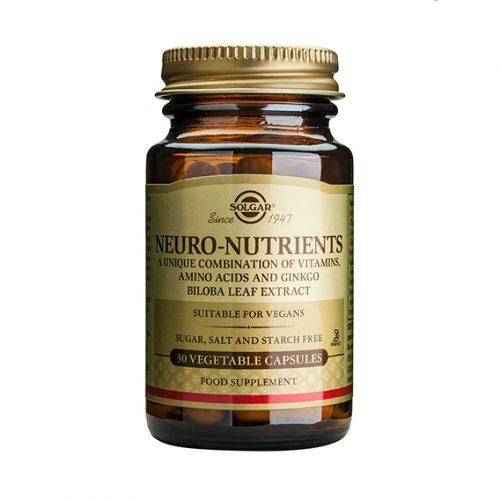 Neuro Nutrientes 30 Cápsulas Vegetales