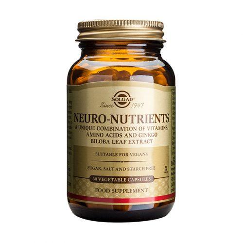 Neuro Nutrientes 60 Cápsulas Vegetales