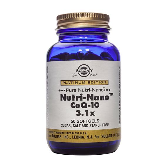 Nutri Nano CoQ10 3.1 x Cáp. Gel. Blanda 50