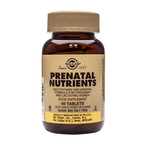 Nutrientes Prenatales 60 Comp.