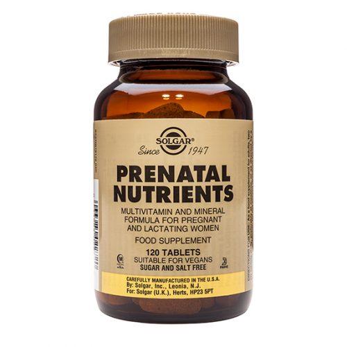 Nutrientes Prenatales 120 Comp.