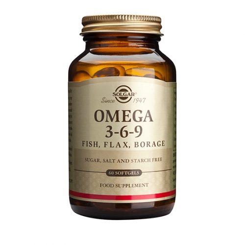 Omega 3 6 9 60 Cápsulas Blandas