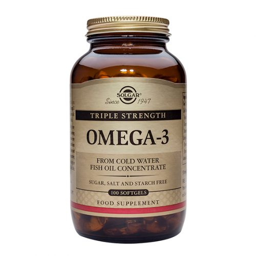 Omega 3 Triple Concentración Cápsulas Blanda 100