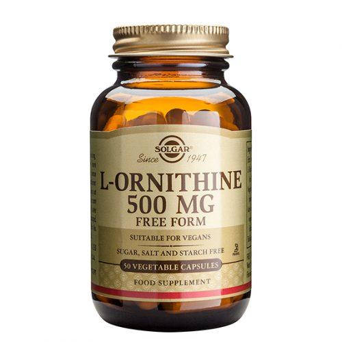 L-Ornitina HCI 500 mg (50)