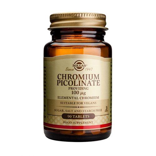 Picolinato de Cromo 100 mg Comprimidos 90