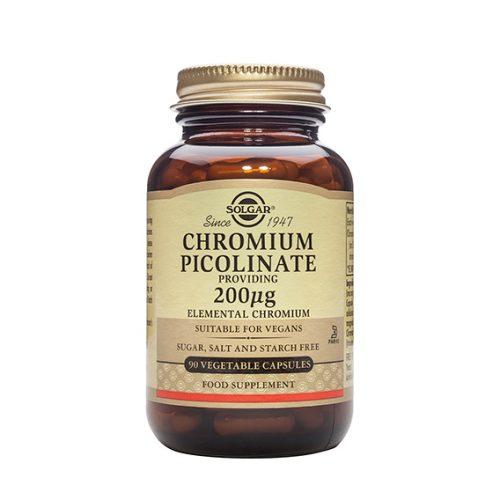Picolinato de Cromo 200 mg 90 capsulas vegetales