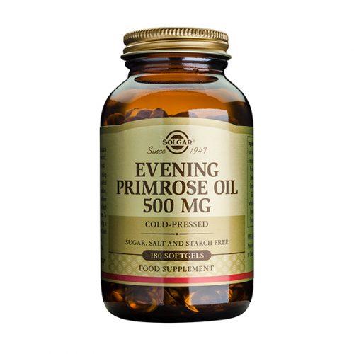 Aceite Prímula Rosa 500 mg Cáp. Gel. Blanda 180