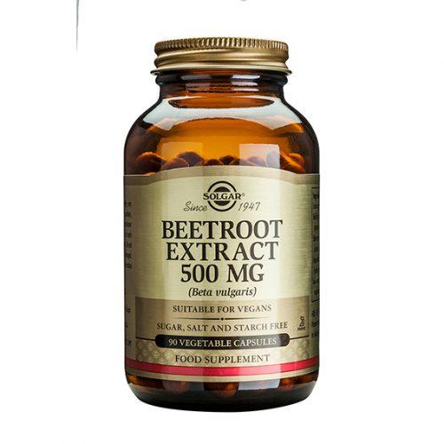 Remolacha Extracto 500 mg (Beta Vulgaris) 90 Cápsulas Vegetales