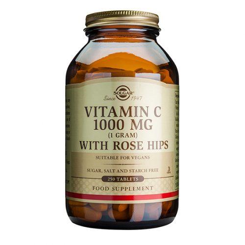Rose Hips C 1.000 mg Comprimidos 250