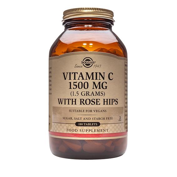 Rose Hips C 1.500 mg Comprimidos 180