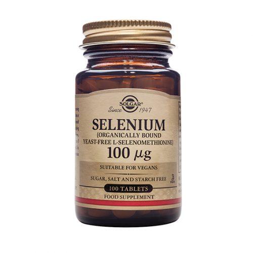 Selenio 100 mg (Sin Levadura) Comprimidos 100