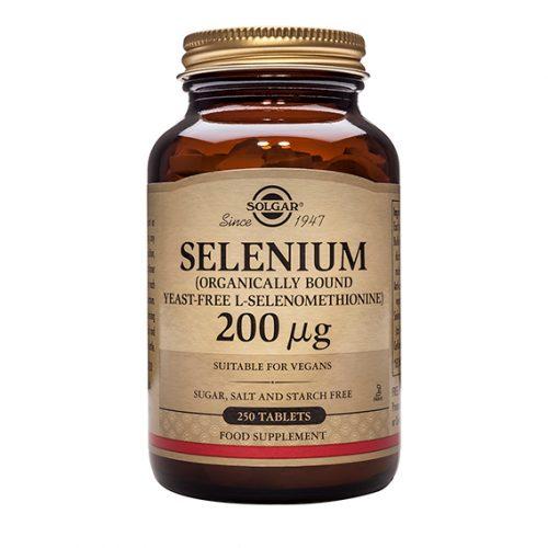 Selenio 200 mg (Sin Levadura) Comprimidos 250