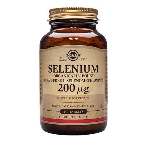 Selenio 200 mg (Sin Levadura) Comprimidos 50