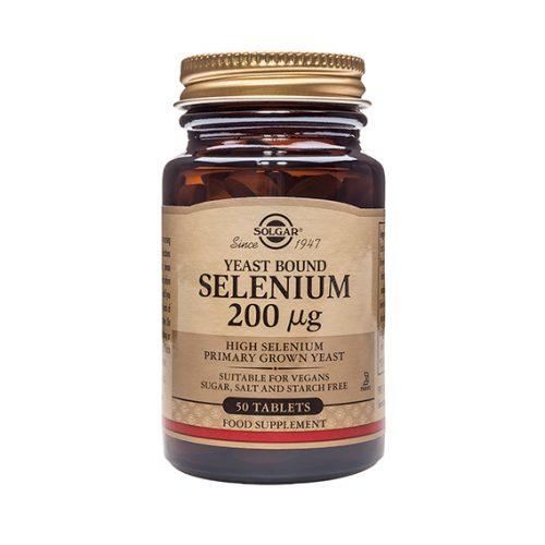 Selenio 200 mg (Levadura Madre) 50 Comprimidos