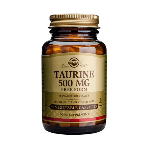 Taurina 500 mg. Vegicaps 50
