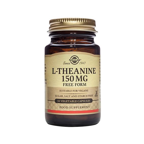L-Teanina 150 mg Cáp. Veg. 30