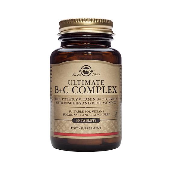Ultimate B+C Complex 30 Comprimidos