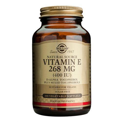 Vitamina E 400 U.I. 268 mg 100 CápsulasVegetales