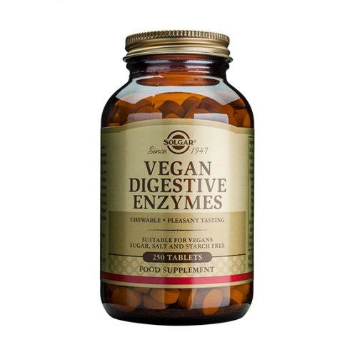 Vegan Enzimas Digestivas 250 Comprimidos Masticables