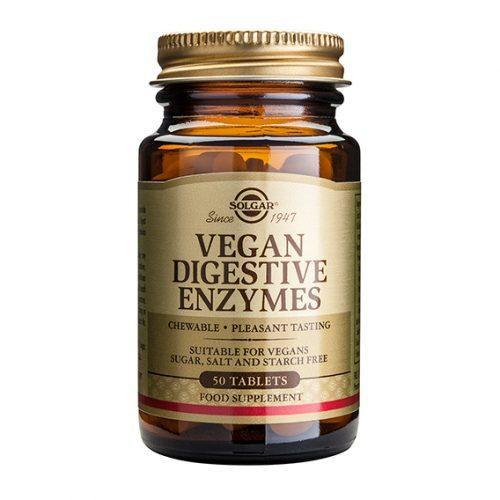 Vegan Enzimas Digestivas 50 Compr. Masticables