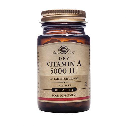 Vitamina A (5000 UI) seca