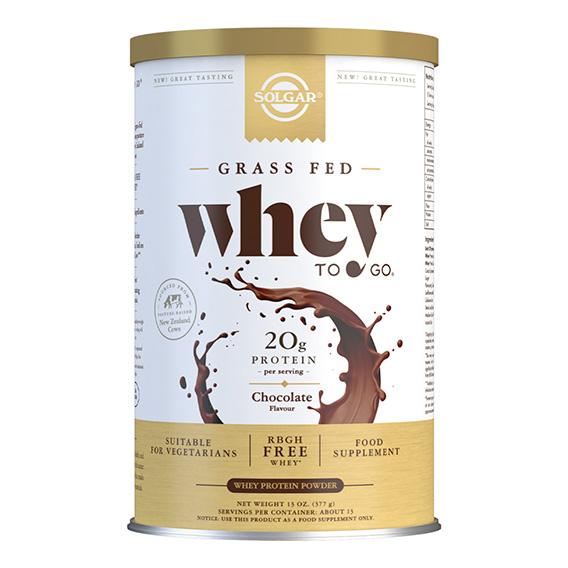 Whey to Go Proteína en Polvo (Chocolate) 454 gr Nueva Formula