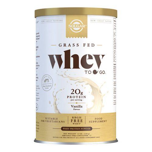 Whey to Go Proteína en Polvo (Vainilla) 340 gr Nueva Formula